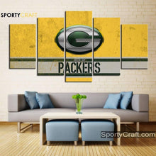 Load image into Gallery viewer, Green Bay Packers Wall Canvas