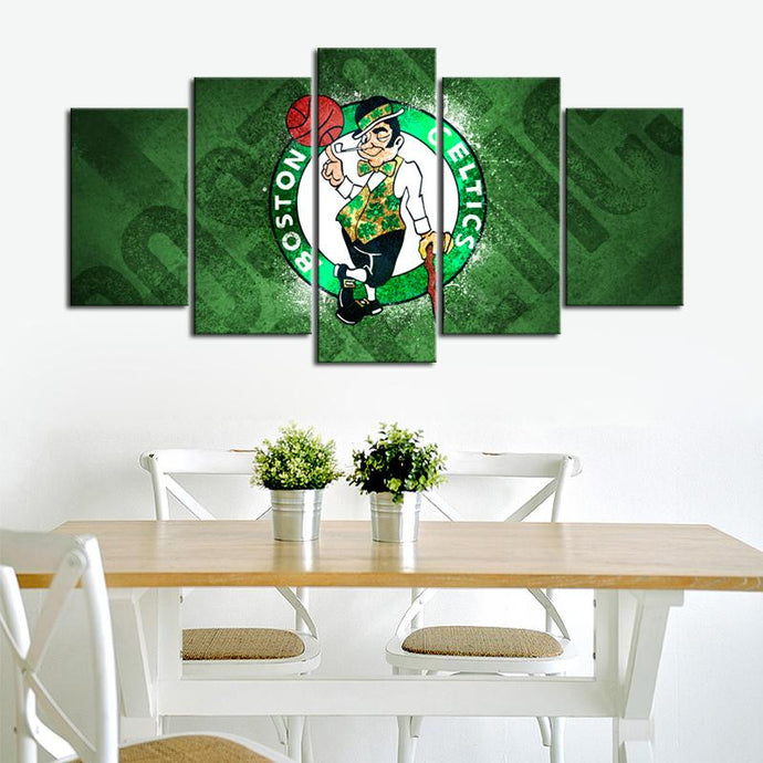 Boston Celtics Wall Canvas