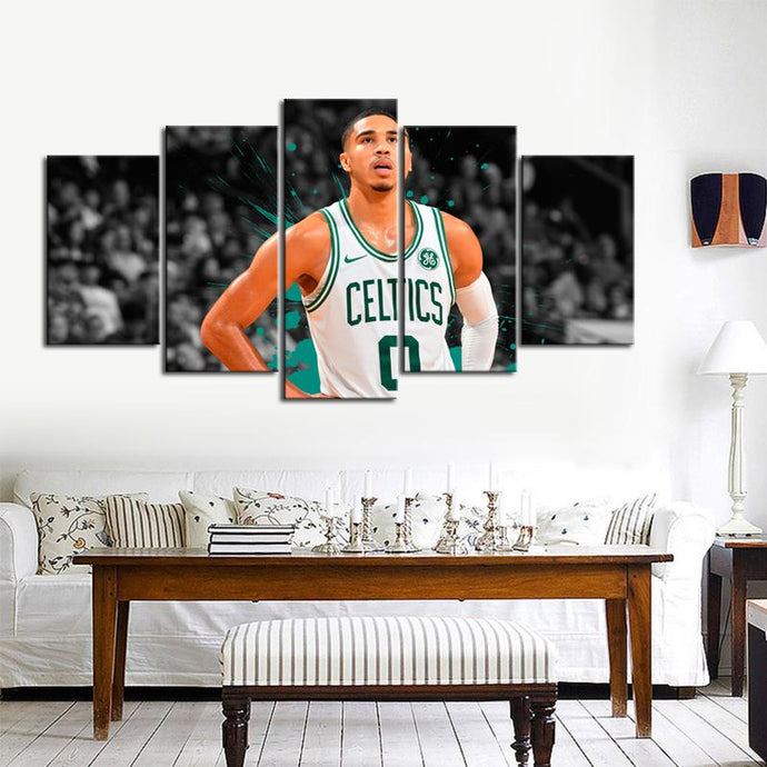 Jayson Tatum Boston Celtics Canvas