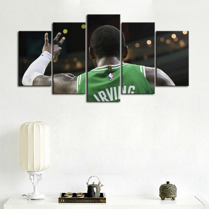 Kyrie Irving Boston Celtics Canvas 3
