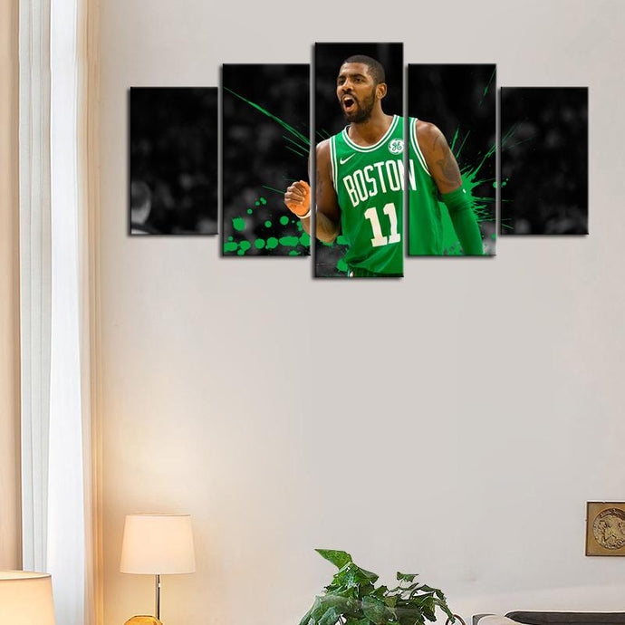 Kyrie Irving Boston Celtics Canvas