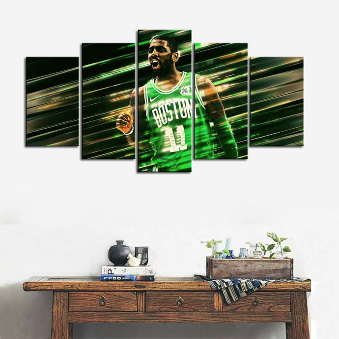 Kyrie Irving Boston Celtics Canvas 2