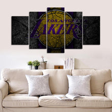 Load image into Gallery viewer, Los Angeles Lakers Rock Style Canvas
