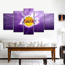Load image into Gallery viewer, Los Angeles Lakers illuminate Canvas