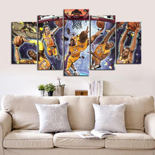 Load image into Gallery viewer, Los Angeles Lakers Wall Art Canvas