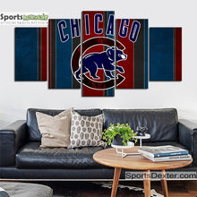Load image into Gallery viewer, Chicago Cubs Wall Canvas