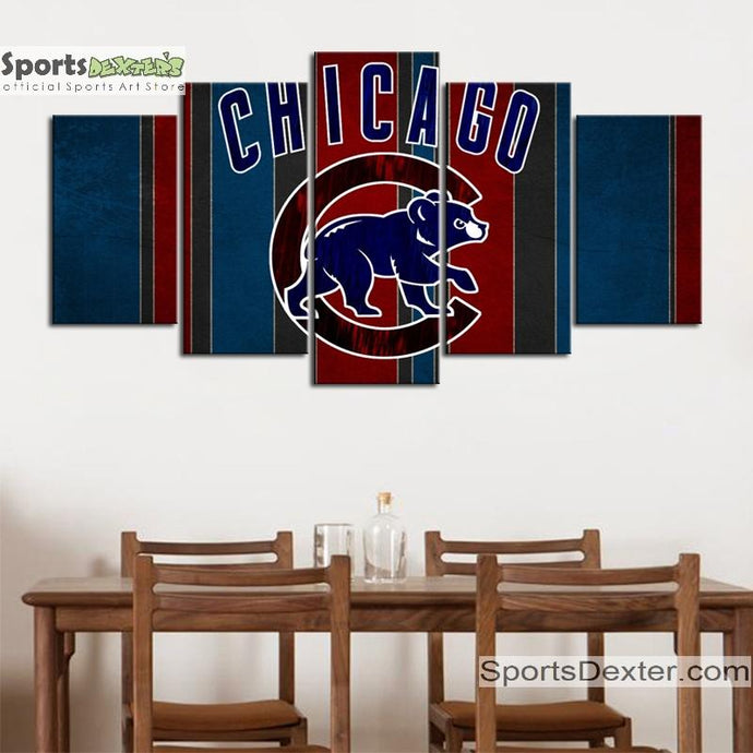 Chicago Cubs Wall Canvas
