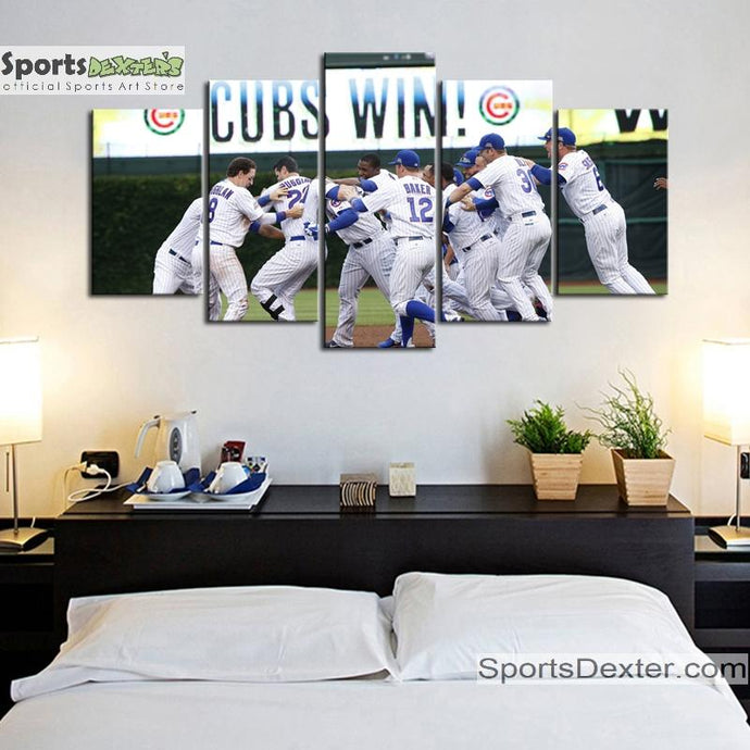 Chicago Cubs Wins Canvas