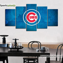 Load image into Gallery viewer, Chicago Cubs Wall Art Canvas