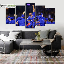Load image into Gallery viewer, Chicago Cubs World Series Canvas 1