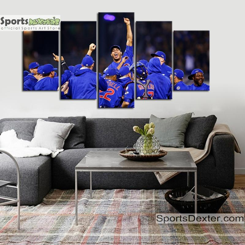 Chicago Cubs World Series Canvas 1