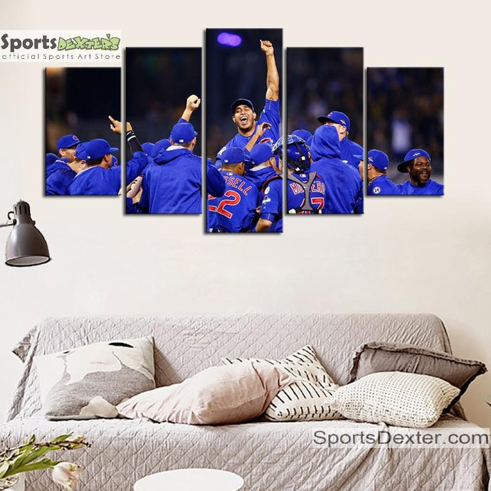 Chicago Cubs World Series Canvas 3