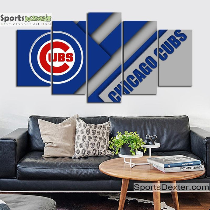 Chicago Cubs Cutting Edge Canvas