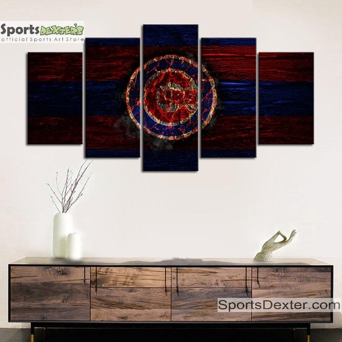 Chicago Cubs Burn Out Canvas