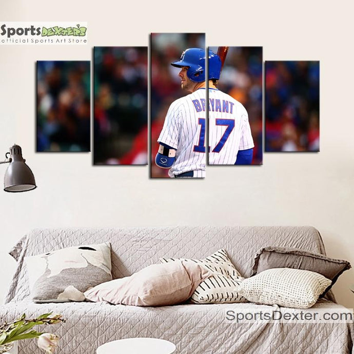Kris Bryant Chicago Cubs Canvas 3