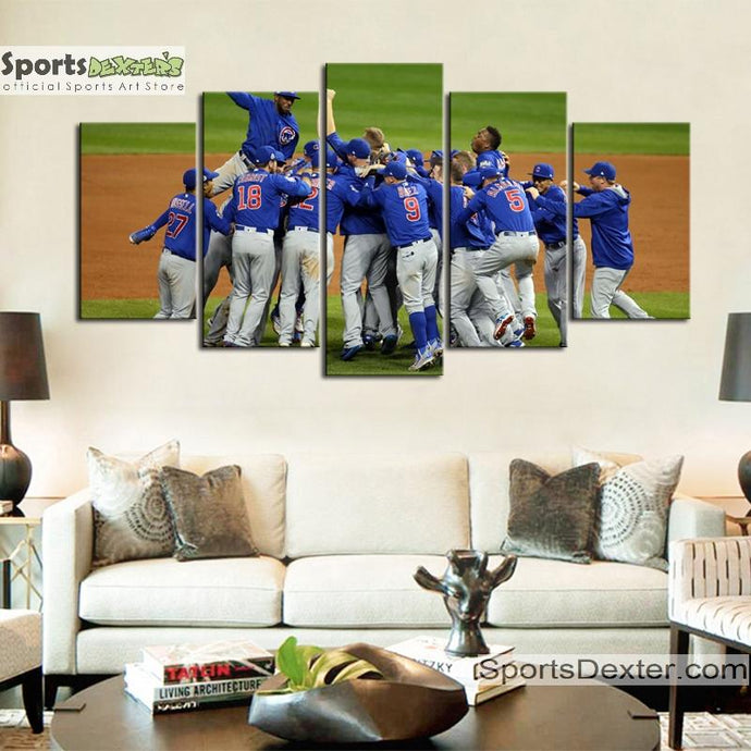 Chicago Cubs World Series Canvas 2