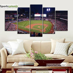St. Louis Cardinals   Stadium Canvas