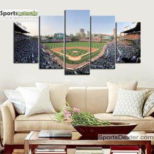Chicago Cubs Stadium Canvas 4