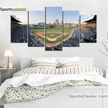Load image into Gallery viewer, Chicago Cubs Stadium Canvas 4