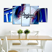 Load image into Gallery viewer, Los Angeles Dodgers Ball Canvas