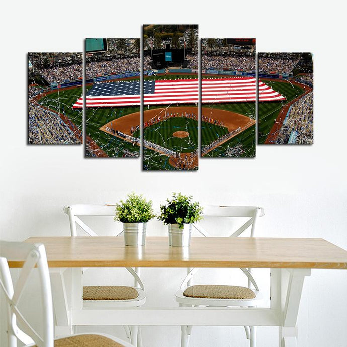 Los Angeles Dodgers Stadium Canvas 2