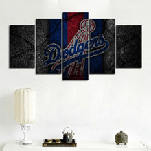 Load image into Gallery viewer, Los Angeles Dodgers Rock Style Canvas