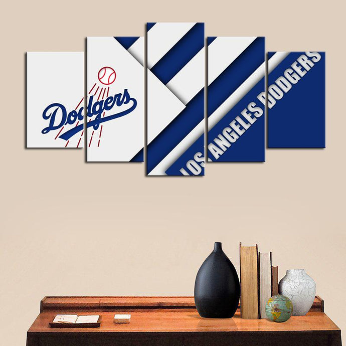 Los Angeles Dodgers Cutting Edge Canvas
