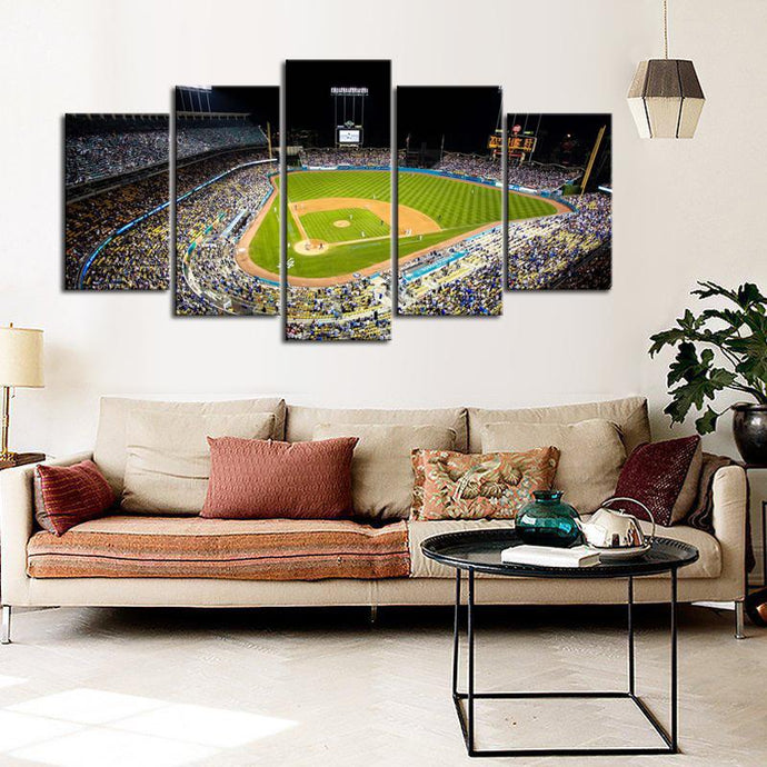 Los Angeles Dodgers Stadium Canvas 3