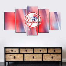 Load image into Gallery viewer, New York Yankees Redish Canvas