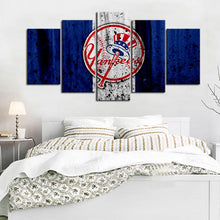 Load image into Gallery viewer, New York Yankees Rough Style Canvas