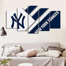 Load image into Gallery viewer, New York Yankees Cutting Edge Canvas