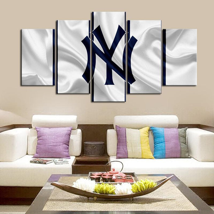New York Yankees Fabric Flag Canvas