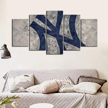 Load image into Gallery viewer, New York Yankees Diamond Cut Style Canvas