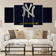 Load image into Gallery viewer, New York Yankees Leather Look Canvas