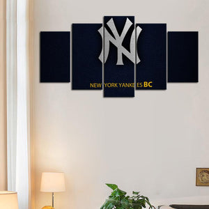 New York Yankees Leather Look Canvas