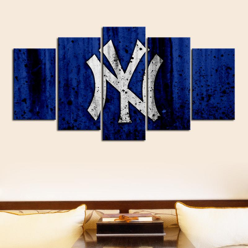 New York Yankees Rough Look Canvas