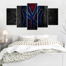 Load image into Gallery viewer, New York Yankees Rock Style Canvas