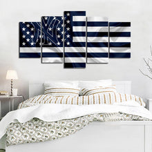 Load image into Gallery viewer, New York Yankees American Flag Canvas