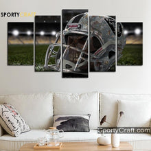 Load image into Gallery viewer, 5 Piece Skull Canvas Art Painting
