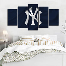 Load image into Gallery viewer, New York Yankees Flag Look Canvas