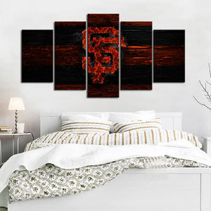 San Francisco Giants Burn Out Canvas