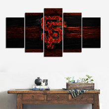 Load image into Gallery viewer, San Francisco Giants Burn Out Canvas