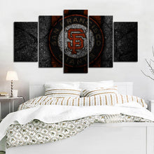 Load image into Gallery viewer, San Francisco Giants Rock Style Canvas