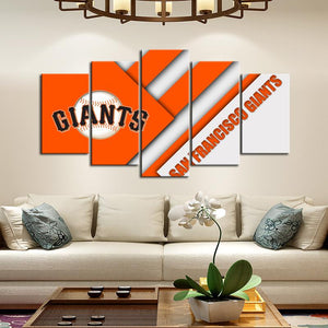 San Francisco Giants Cutting Edge Canvas