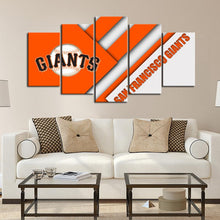 Load image into Gallery viewer, San Francisco Giants Cutting Edge Canvas