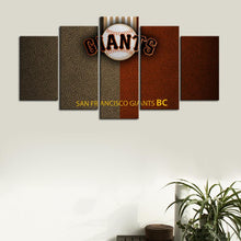 Load image into Gallery viewer, San Francisco Giants Leather Look Canvas