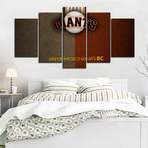 San Francisco Giants Leather Look Canvas