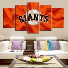 Load image into Gallery viewer, San Francisco Giants Fabric Flag Canvas
