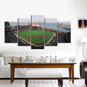 San Francisco Giants Stadium Canvas 6