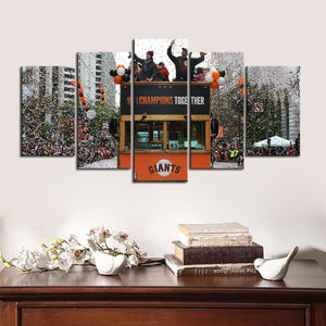 San Francisco Giants Champions Together Canvas